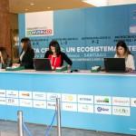 Diseño de mesa de registro evento México 2014